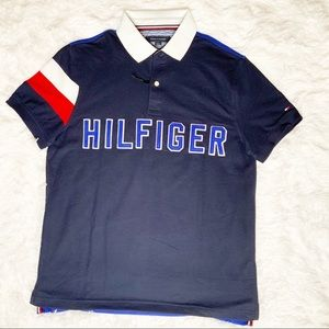 NWT TOMMY HILFIGER WICKING UV PROTECTION POLO